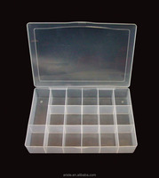 21801 Clear Plastic Storage Box