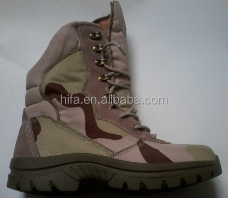 Military Desert camouflage combat ranger tactical boots