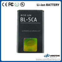 BL-5CA Battery for Nokia 1108 1110 1110i 1112 1112i 1116 1200 1208 1209 1255 1020mAh