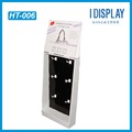 Promotion needed corrugated cardboard hanging product rack display