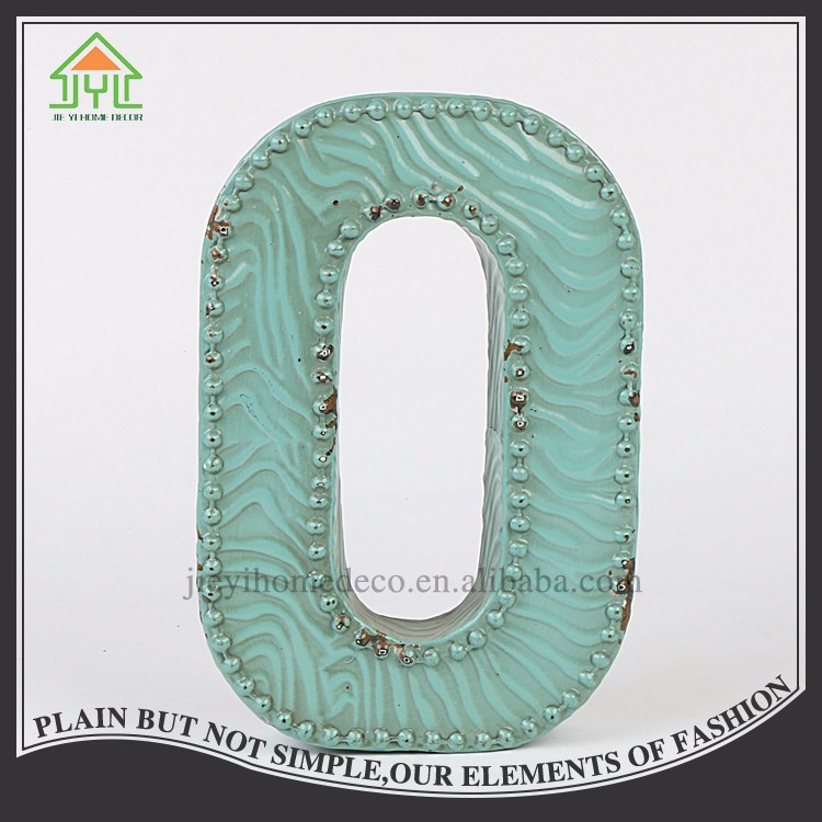Wholesale high quality 3d request letter O for decoration