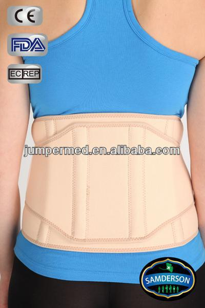 Samderson C1LU-3401 MEDICAL GRADE BACK BRACE with stays + exclusive extra power belt for incredible support