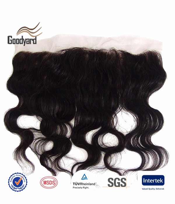 Full Lace Closure 13x4 Baby Hair Bleached Knots Silk Base Frontal