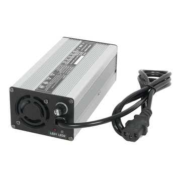 24V12A Lithium/LiFePo4/LiMn Battery Charger with CE&ROSH