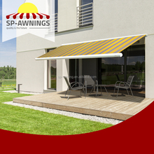 NEW Automatic 6 * 3 m small retractable canopy and prefab metal rain awning for sale