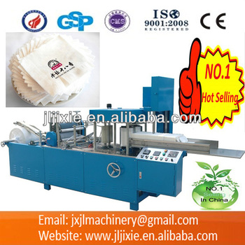 JL-N380 Napkin Embossing And Folding Machine