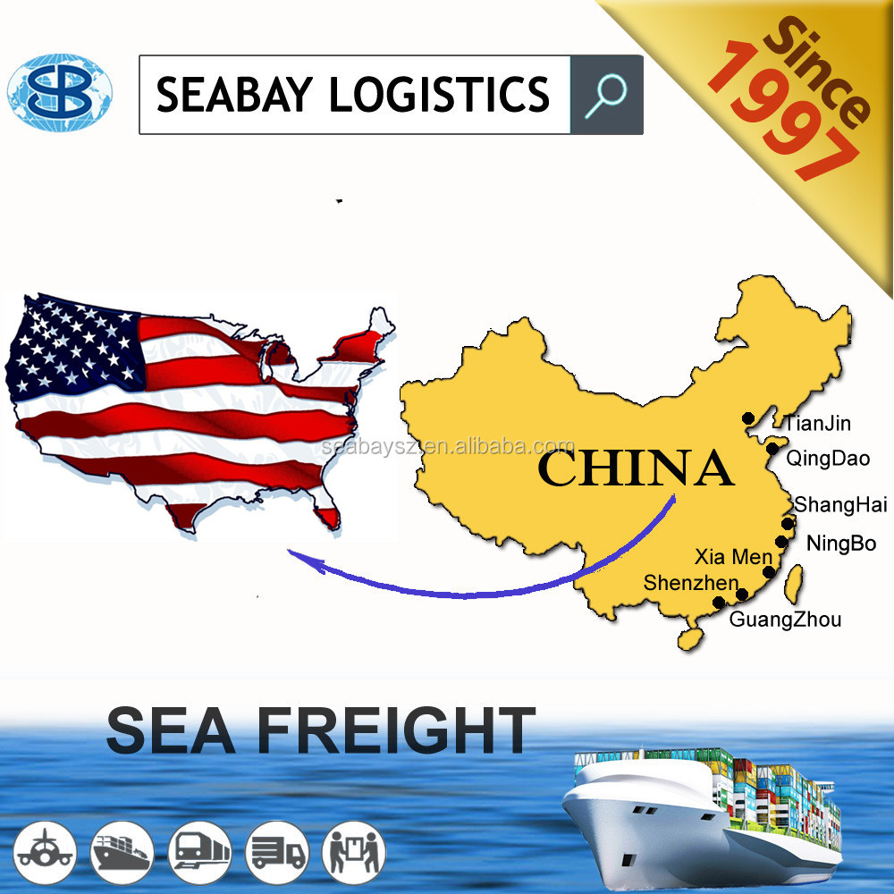 Reliable sea shipping china to usa/canada