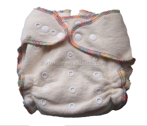 THX hemp organic cotton fitted diaper