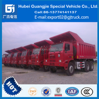 HOWO 60-70 ton 6*4 340hp 30 ton mining dump truck for sale in dubai