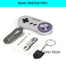 Universal Gamepad 8bitdo SNES30 PRO Wireless Bluetooth SNES Controller inalambrico para for IOS / Android joystick Gamepad pc