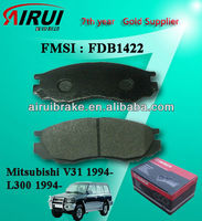 FDB1422 Mitsubishi L300 semi-metallic brake pad