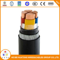 DC 0.6/1kV 25mm 35mm cu/pvc/swa/pvc armoured power cable malaysia