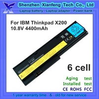 shenzhen factory laptop battery for IBM ThinkPad X200 X201 batterie