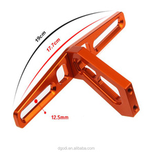 High quality aerospace alloy cnc decorative license plate frame for electric bike