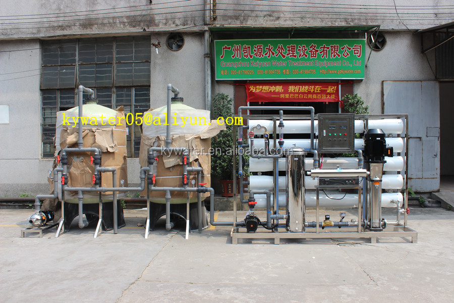 100 cubic meter per day water treatment equipment for borehole water /drinking
