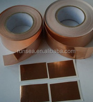 China manufacturer electrical isolation tape Anti-static copper emi shielding tape