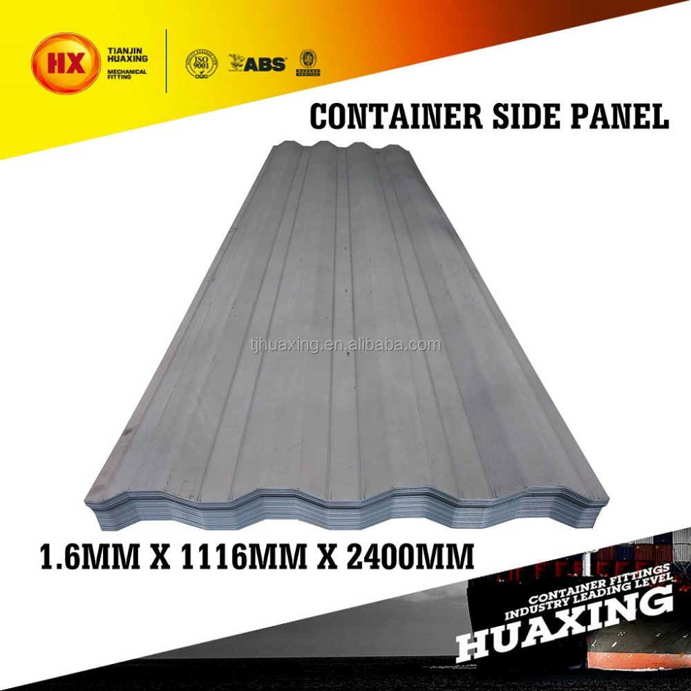 1.6mm SPA-H Container House Wall Panel