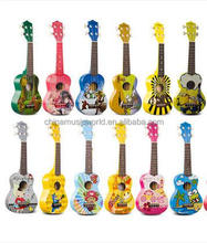 21 Inch Afanti Music Cartoon color & Mini Ukulele (AUK-004)