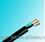 High quality colorful coded pu jacket special power cable
