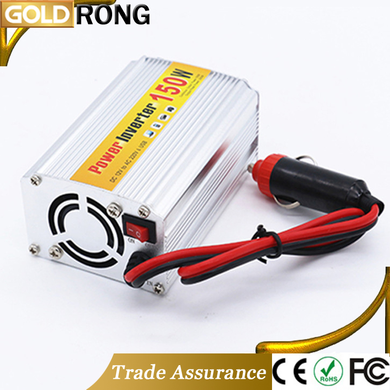 150W DC AC Car Power Inverter USB 5V 1A Best Vehicle Charger 12 Volt Power Converter For Sale
