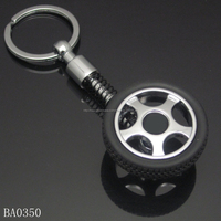 Factory cheap price tire keychain/ tyre keychain/Mini tire key chain