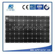 high efficiency mono solar panel 250w 30V for on grid system