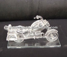 Crystal Motorcycle Transport Model Sports Racing Souvenirs