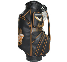 Geniune Leather Promotinal Waterproof Stand Golf Bag