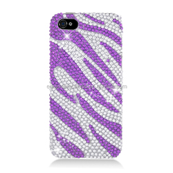 LUXURY 3D CRYSTAL DIAMOND CASE BLING DIAMANTE HARD COVER for iPhone 5/ 4/4s