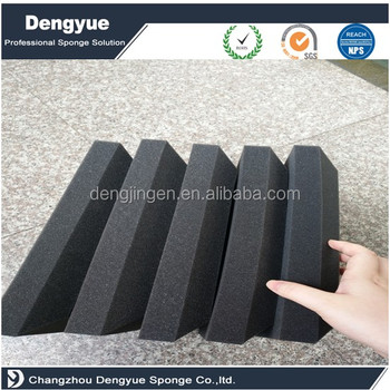 High density anti shock sound absorbent foam for machine