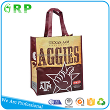 BSCI ISO Large capacity supermarket promotion recycle eco folding shopper tote bag