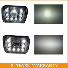 2015 Latest Released 5x7'' 55W Ip68 led work light for offroad led high low beam lamp