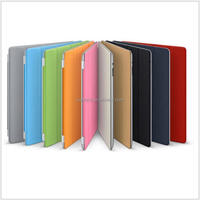 Wholesale Ultra slim and thin magnetic 4 Fold Leather Tablet case and Cover for Ipad 234