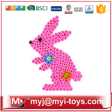 Direct selling educational diy ironing beads easy make paper toy AT11A-3