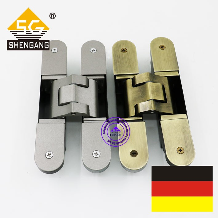 three way adjusted concealed hinge for wood door