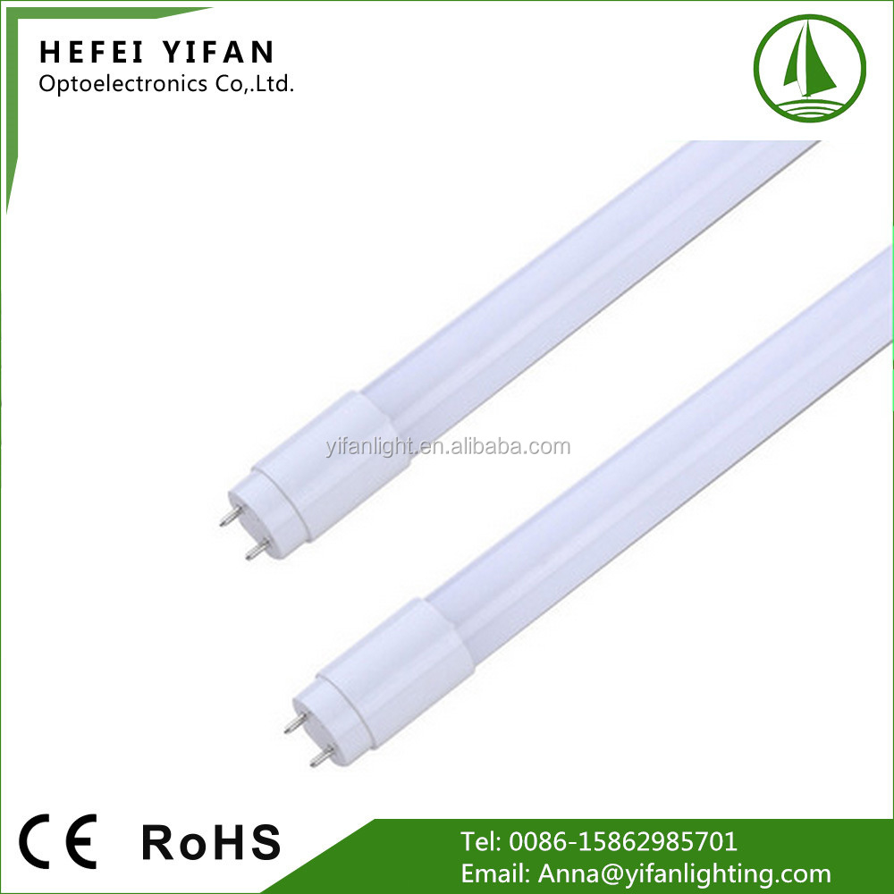 0.9 power factor t8 led glass tube light dg e11679 for Turkey
