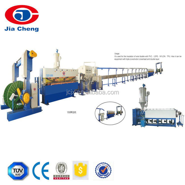 Power Cable Jacket Extrudr Line/power Cable Making Machine