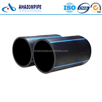 Factory supply PE100 water flow pipe plastic HDPE agricultural irrigation tube