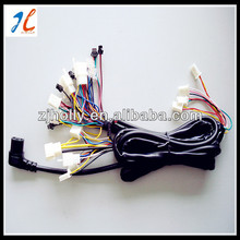 PVC insulation copper wire electric scooter wire harness with different types