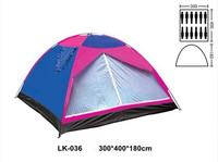 LK-036 10-12 person single layer camping tent big size