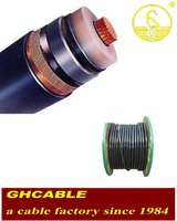 PVC insulated steel wire armoured PE sheath power cable