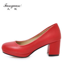 Cheap Spring Autumn customize women wedding bridal heels for women 2017 ladies office pumps