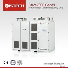 ISTECH IDrive2000 good quality Medium voltage variable frequency drive Clean water pump 10KV 500KW