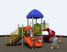 RFQ playground 2017 outdoor playground amusement park commercial/yard/school/park/restaurant commercial slides for kids