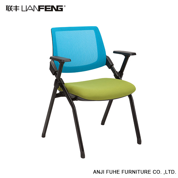 Supreme quality optional color office chair with wearable metal parts