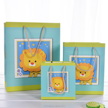 LE 260g Cheap custom made paper bags shopping paper bag