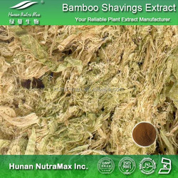 100% Natural Bamboo Shavings Extract,Bamboo Shavings Herbal Extract,Bamboo Shavings Extract Powder