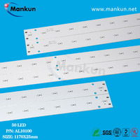 18W /24W 5730LED strip pcb for tube light high quality indoorBuilding industrial lighting alumiunm printed circuit board