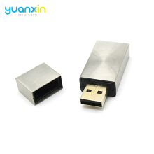 Gold Silver Metal Stick 8Gb Usb 2.0 Flash Memory Stick Thumb Pen Drive 8G U Disk
