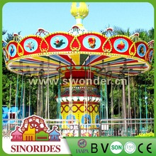 36 Seats Park Rides Wave Swinger Park Model Family Love